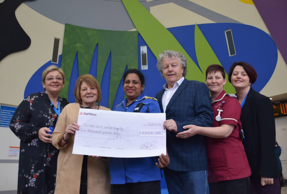 Local broadcaster donates funds to local hospital